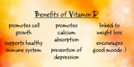Benefits of vitamine D
